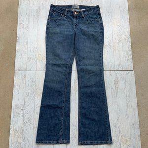 Levi's Low Rise Bootcut Jeans Sz 8 Long Med Wash